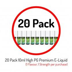 20 Pack Premium E-Liquid