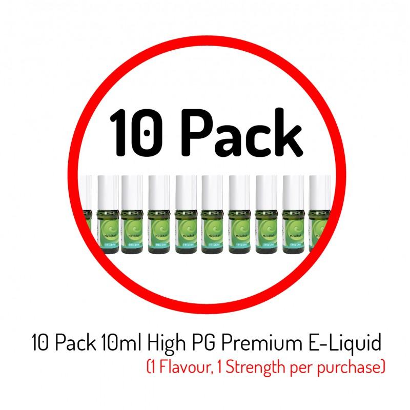 10 Pack Premium E-Liquid
