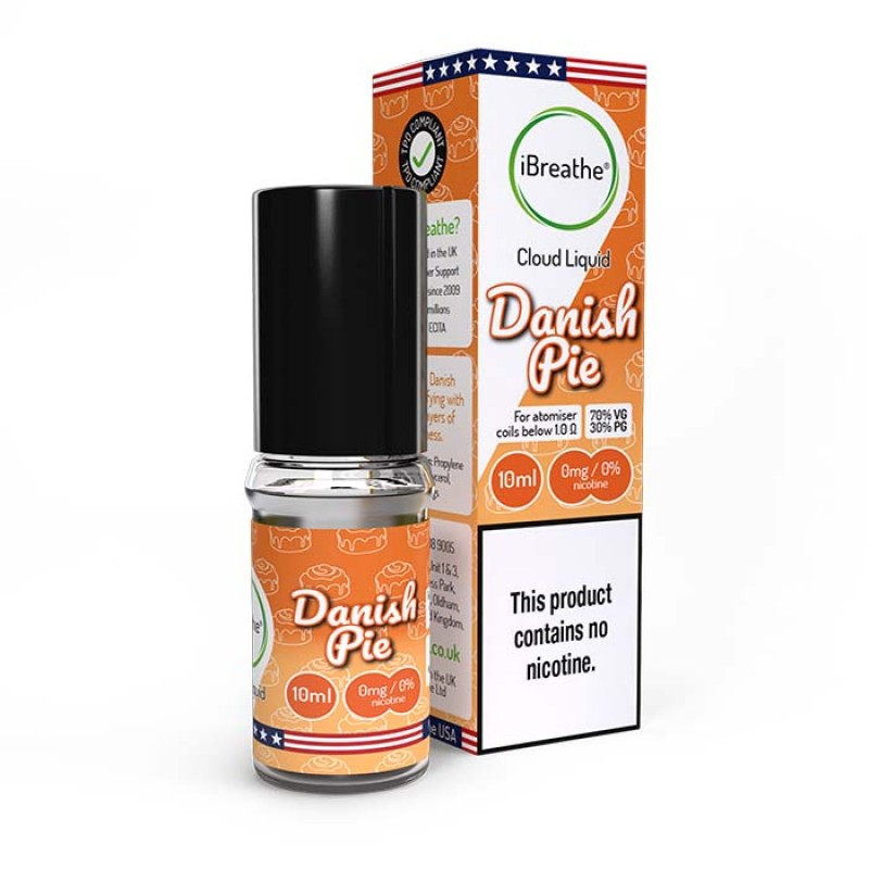 Danish Pie - 10ml High VG E-Liquid