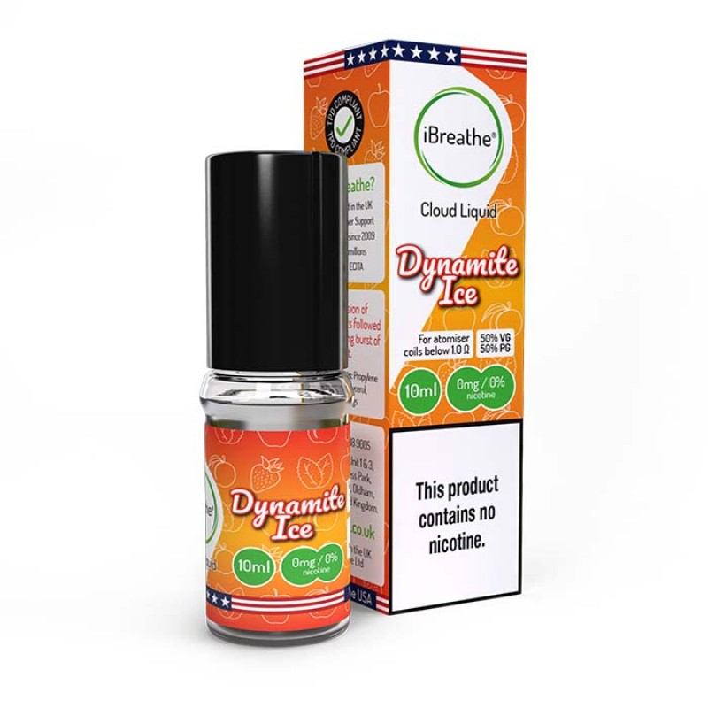 Dynamite Ice - 10ml High VG E-Liquid