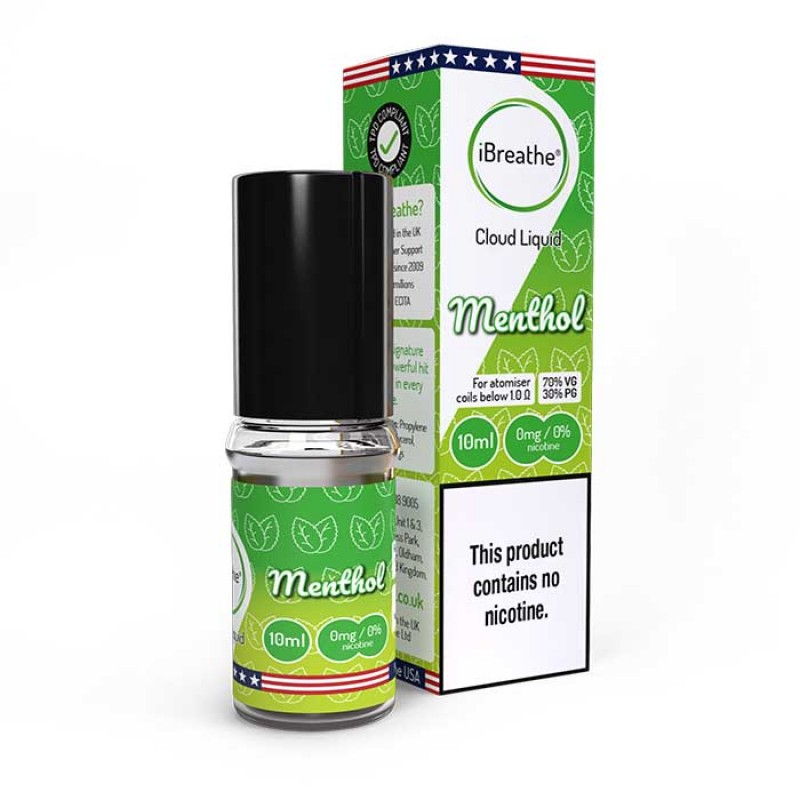 Menthol - 10ml High VG E-Liquid