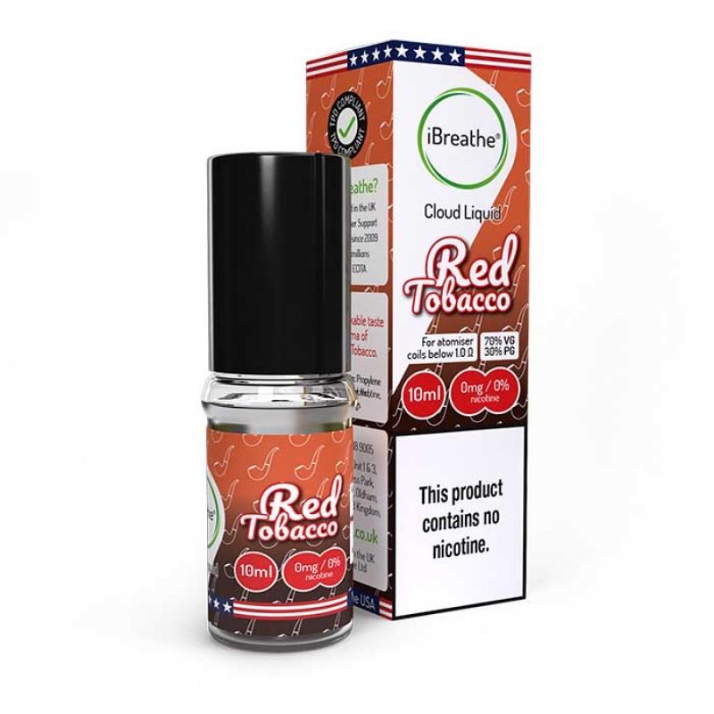 Red Tobacco - 10ml High VG E-Liquid