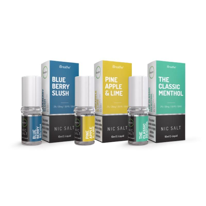 3 Pack Nic Salt E-Liquid