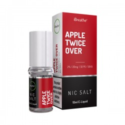 Apple Twice Over - 20mg - 10ml Nic Salt E-Liquid
