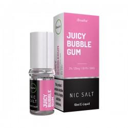 Juicy Bubblegum - 20mg - 10ml Nic Salt E-Liquid