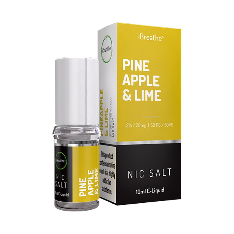 Pineapple & Lime - 20mg - 10ml Nic Salt E-Liquid