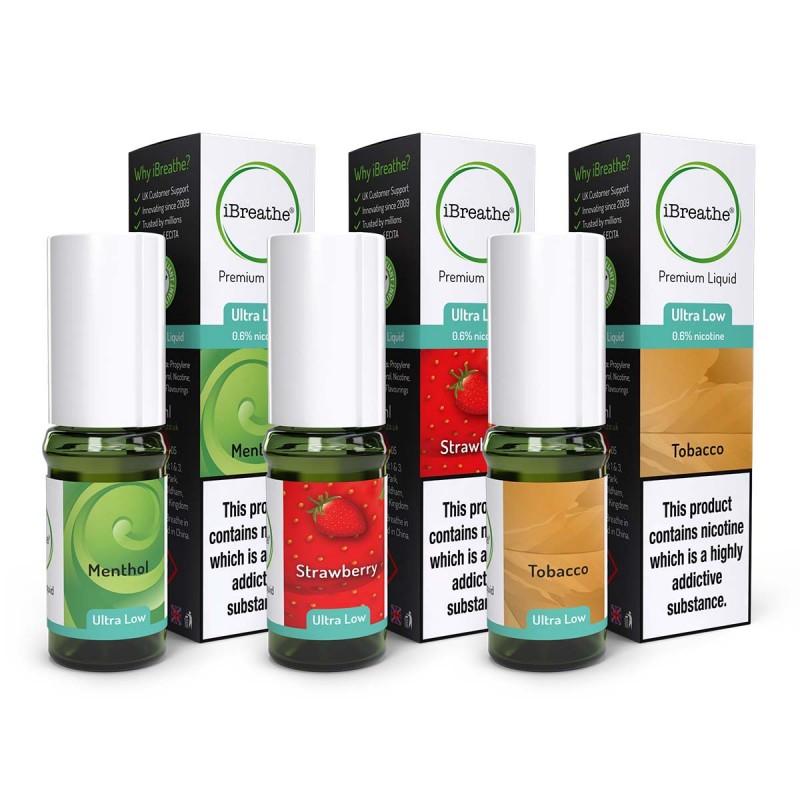 3 Pack Premium E-Liquid