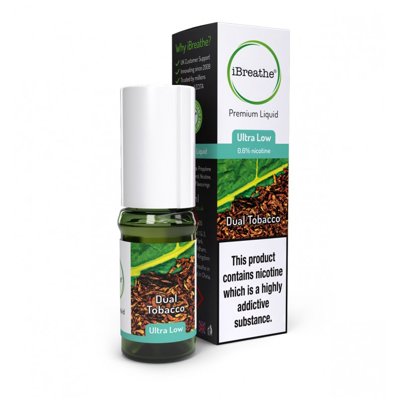 Dual Tobacco - 10ml High PG E-Liquid