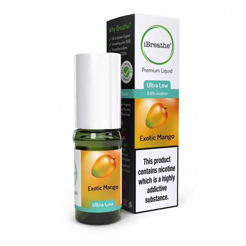 Exotic Mango - 10ml High PG E-Liquid
