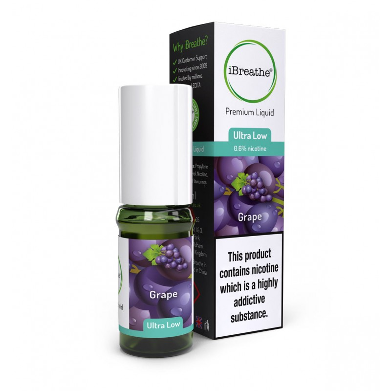 Grape - 10ml High PG E-Liquid