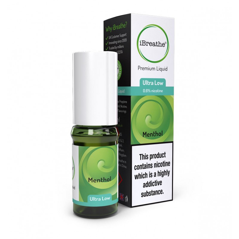 Menthol - 10ml High PG E-Liquid