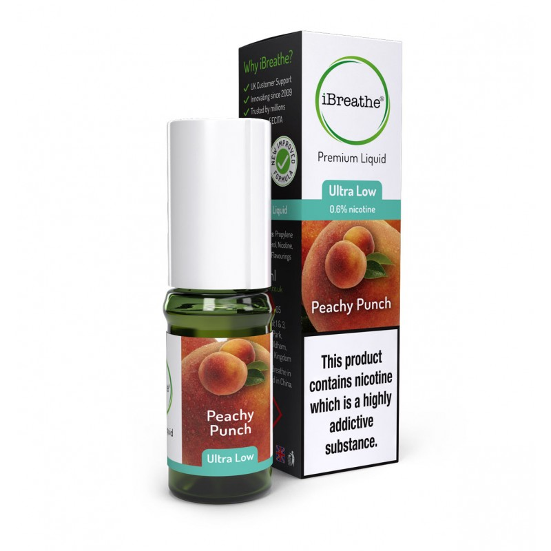 Peachy Punch - 10ml High PG E-Liquid