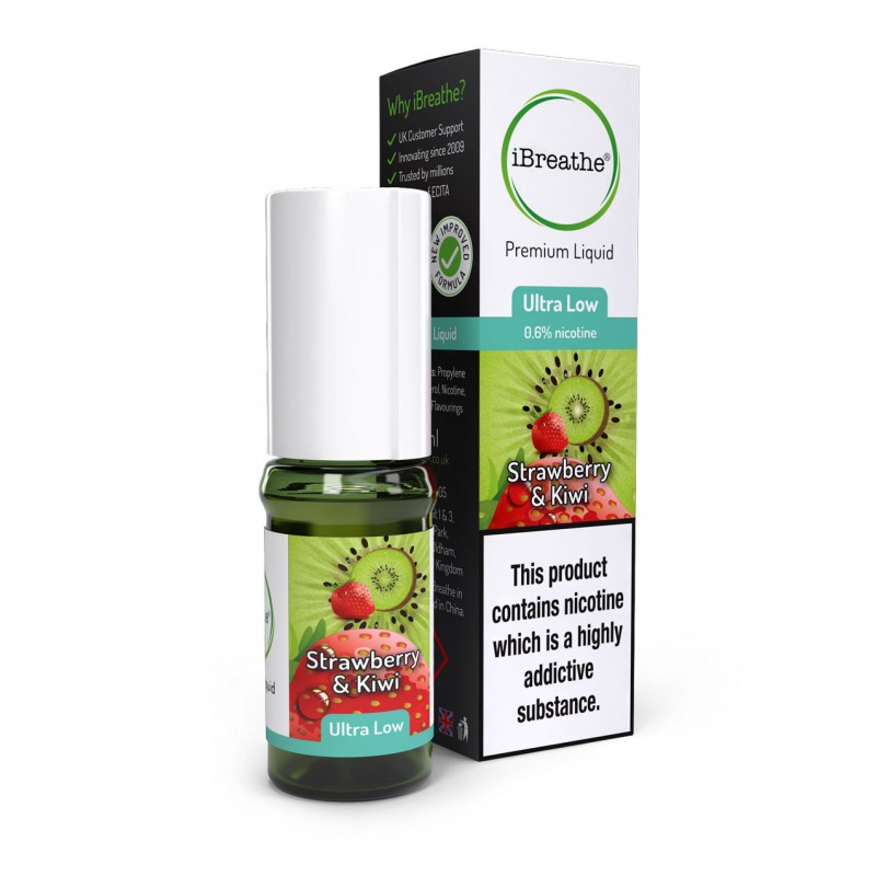 Strawberry & Kiwi - 10ml High PG E-Liquid