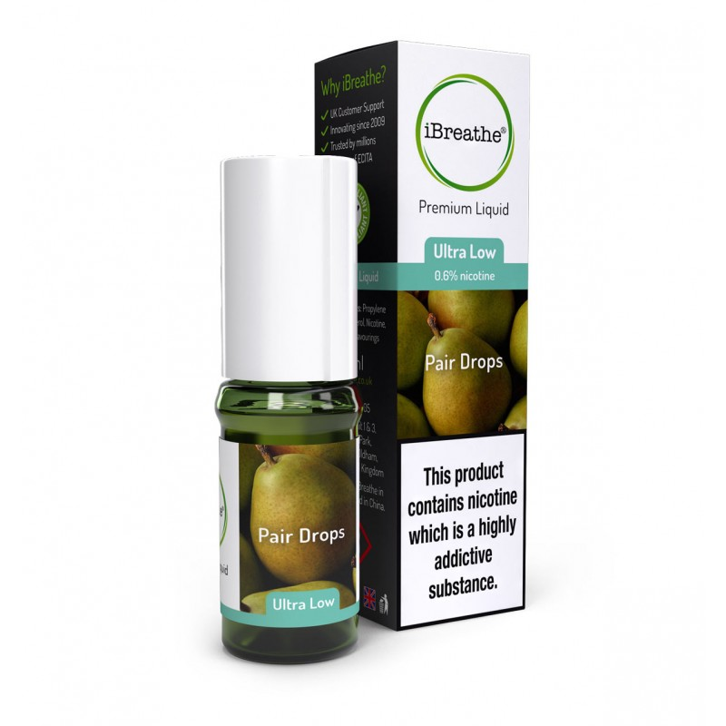 Pear Drops - 10ml High PG E-Liquid