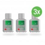 3 x iCleanse Antiseptic Hand Sanitiser Gel